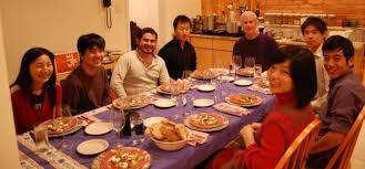 dinner host host family program for international students vice provost for