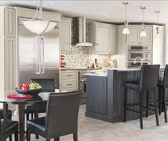 Gray Kitchen Island Light Gray Kitchen Cabinets Gray Island