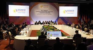 strict dress codes tight security characterize asean meetings in
