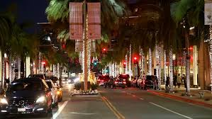 beverly hills christmas lights beverly hills los angeles california december 18 2016 rodeo