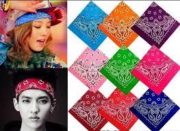 s headbands 2018 men s women s hiphop headband bandana cotton bandana