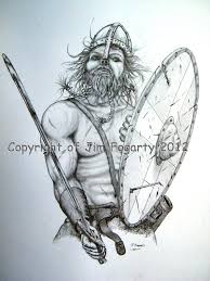viking tattoo design by jim fogarty