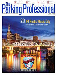 Nj Keate Home Design Inc The Parking Professional April 2016 By International Parking