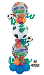 balloon delivery san jose 125 best sports theme party balloons images on sport