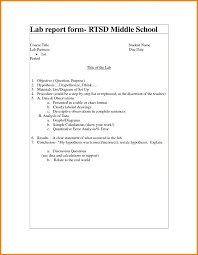 lab report template middle school lab report template middle school pdf moderndentistry info is