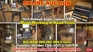 Woodworking Machinery Auction Sites by Online Only Auction In Joelton Tn Starts On 10 6 2017