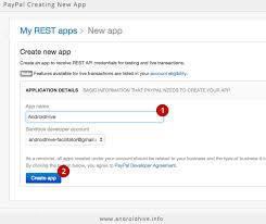 android integrating paypal using php mysql part 1