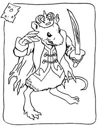 coloring page of a rat nutcracker coloring printable nutcracker coloring pages for kids