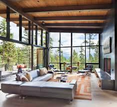 enchanting mountain home offers treehouse feel in montana modern mountain home stillwater architecture 03 1 kindesign
