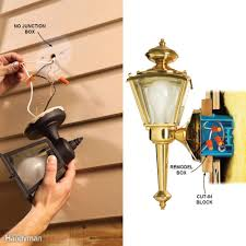 wall lights without wiring installing wall light fixture no outlet box raco ceiling fan how to
