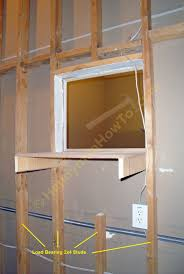 how to repair a 2 4 load bearing wall stud