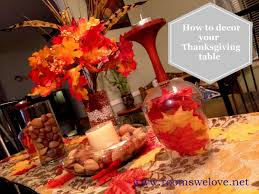 easy thanksgiving table decorations to make decorating ideas diy