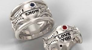 epic wedding band wars wedding rings