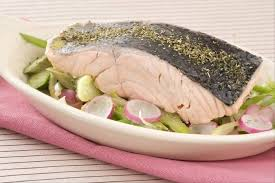 recette cuisine vapeur recette de saumon à la vapeur de thé wok de légumes croquants