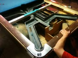 Pool Table Disassembly by Absolute Billiard Servicesbar Pool Tables In Atlanta Commercial