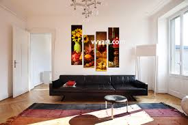 home decor kitchen pictures 4 piece colorful canvas wine home decor wall art