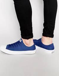 converse chuck taylor all star ii blue men shoes 8471363