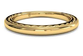 braided band women s classic braided wedding band in 18kt yellow gold ritani