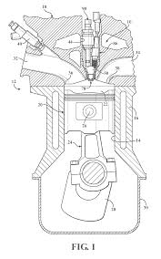 patent us20120103302 turbulent jet ignition pre chamber