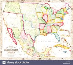 United States And Mexico Map by Map Of The United States And Mexico Evenakliyat Biz
