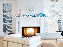 fireplace mantel christmas decorating ideas christmas lights