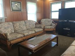 Cabin Sofa Rocky Reef Resort Cabin 5 Style Cottage Rentals On Lake Mille Lacs
