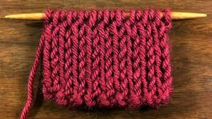 the knit fabric stitch knitting stitch 51