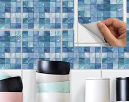 Vinyl Wall Tiles For Kitchen - wall tile decals vinyl sticker waterproof wallpaper for