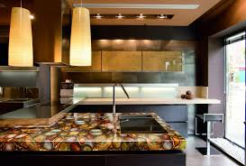 modern kitchen countertops from unusual materials 30 ideas u2013 home