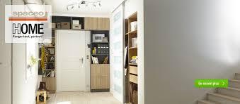 le bureau leroy merlin dressing meuble de rangement et bibliothèque spaceo home au