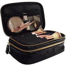 professional makeup carrier professional makeup bag organiser black gold