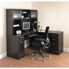 Mainstays L Shaped Desk With Hutch Multiple Finishes by L Shaped Desk For Solution Decorative Furniture