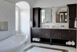 Small Bathroom Suites Small Bathroom Bathrooms Budget Dark Floor Tiles Wooden Cabinets