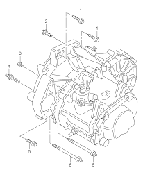 volkswagen polo 2010 2012 mounting parts for engine and