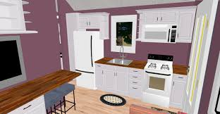 view of the over sized kitchen in the cozy 300 sq ft plan that i u0027m