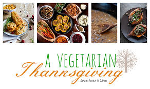 vegetarian thanksgiving menu