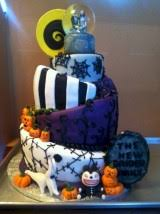 58 simple and elegant halloween wedding cakes ideas in purple