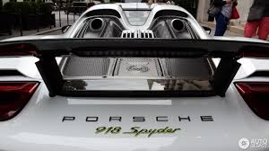 porsche 918 exterior porsche 918 spyder weissach package 23 february 2017 autogespot