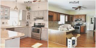 Home Decor Before And After Photos Kitchen View Pictures Of Painted Kitchen Cabinets Before And