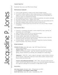 graphic designer resume objective sample chef resume