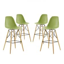 home design endearing plastic bar chair set of 4 pyramid modern