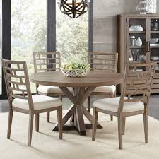 mirabelle wood round dining table in ecru humble abode
