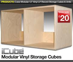 Lp Record Cabinet Furniture Vinyl Lp Record Storage Cubes Boxes Shelves Units U0026 Dj