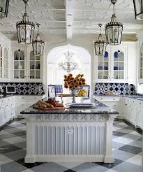 White And Blue Kitchen - 46 best blue u0026 white tiled kitchen images on pinterest white