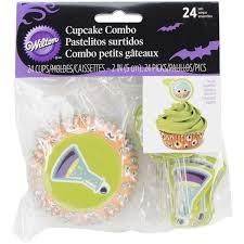 amazon com wilton 415 3018 mad science cupcake decorating combo