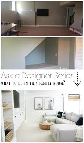 ask a designer series family room fireplace facebook group and