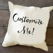 personalized pillow custom personalized pillow monkey designs