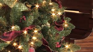 lowes trees christmas christmas lights decoration