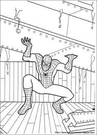 free spiderman pages classroom color pages