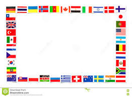 Countries Of The World Flags Frame Of National Flags The Different Countries Of The World